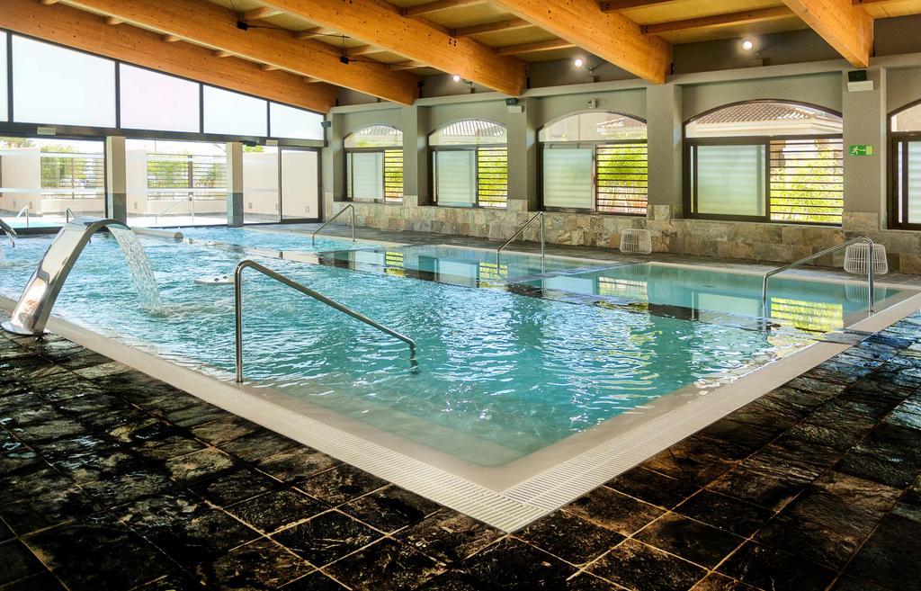 Indoor pool Hacienda del Alamo