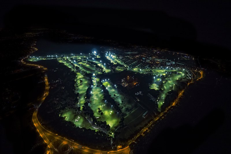 Night Golf at Carya Golf Club Turkey