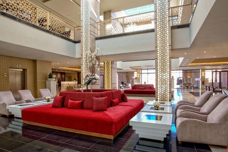 Hotel lobby Marrakech