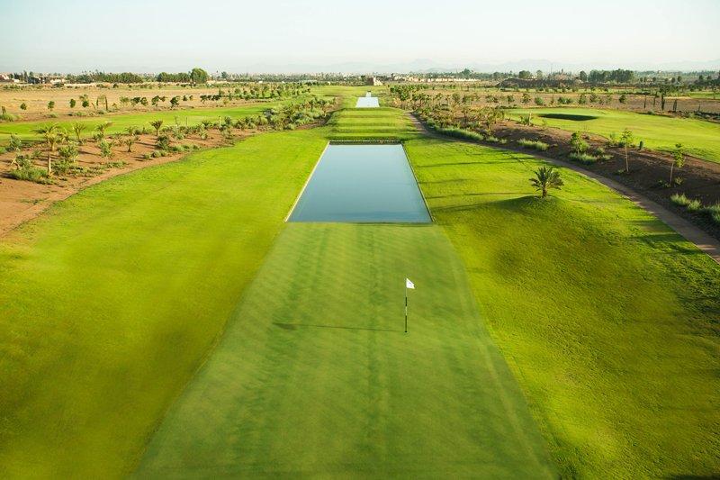 8th Hole Noria Golf Club Marrakech