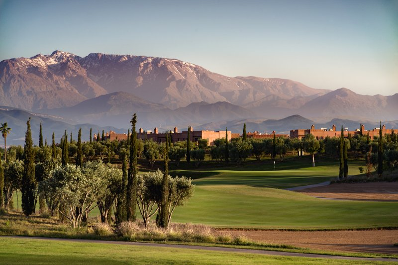 View of Palm Golf and Atlas Mountains Marrakech